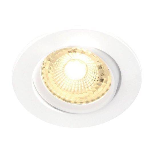 Nordlux OCTANS 49260101 Kohdevalaisin 5x4,8W LED, 2700K, GU10 valkoinen