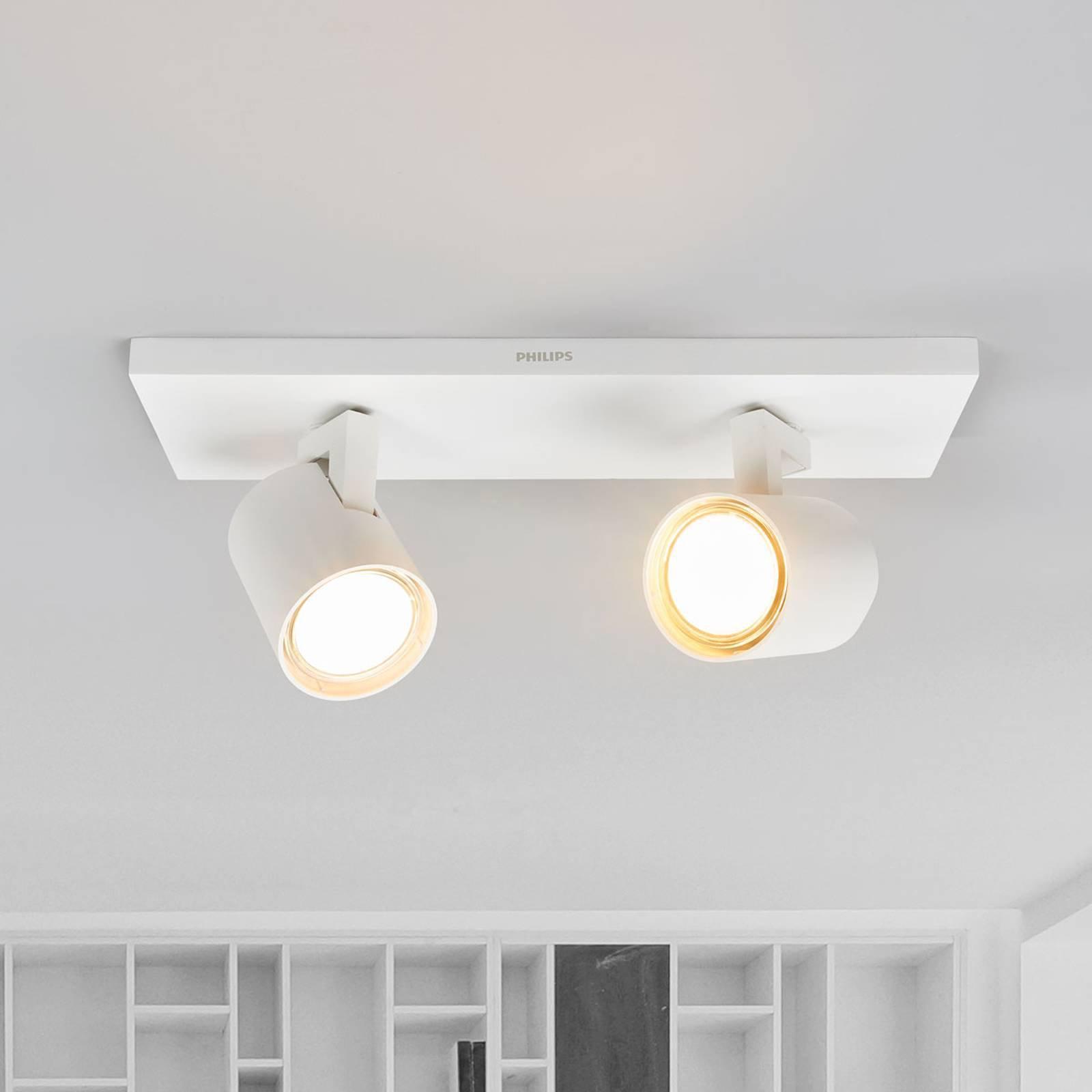Runner LED taklampe med 2 lyskilder