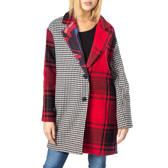 Desigual Women's Coat Red 170140 - red 38