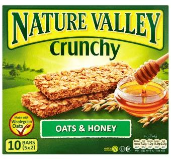 Nature Valley Crunchy Oats & Honey 210g