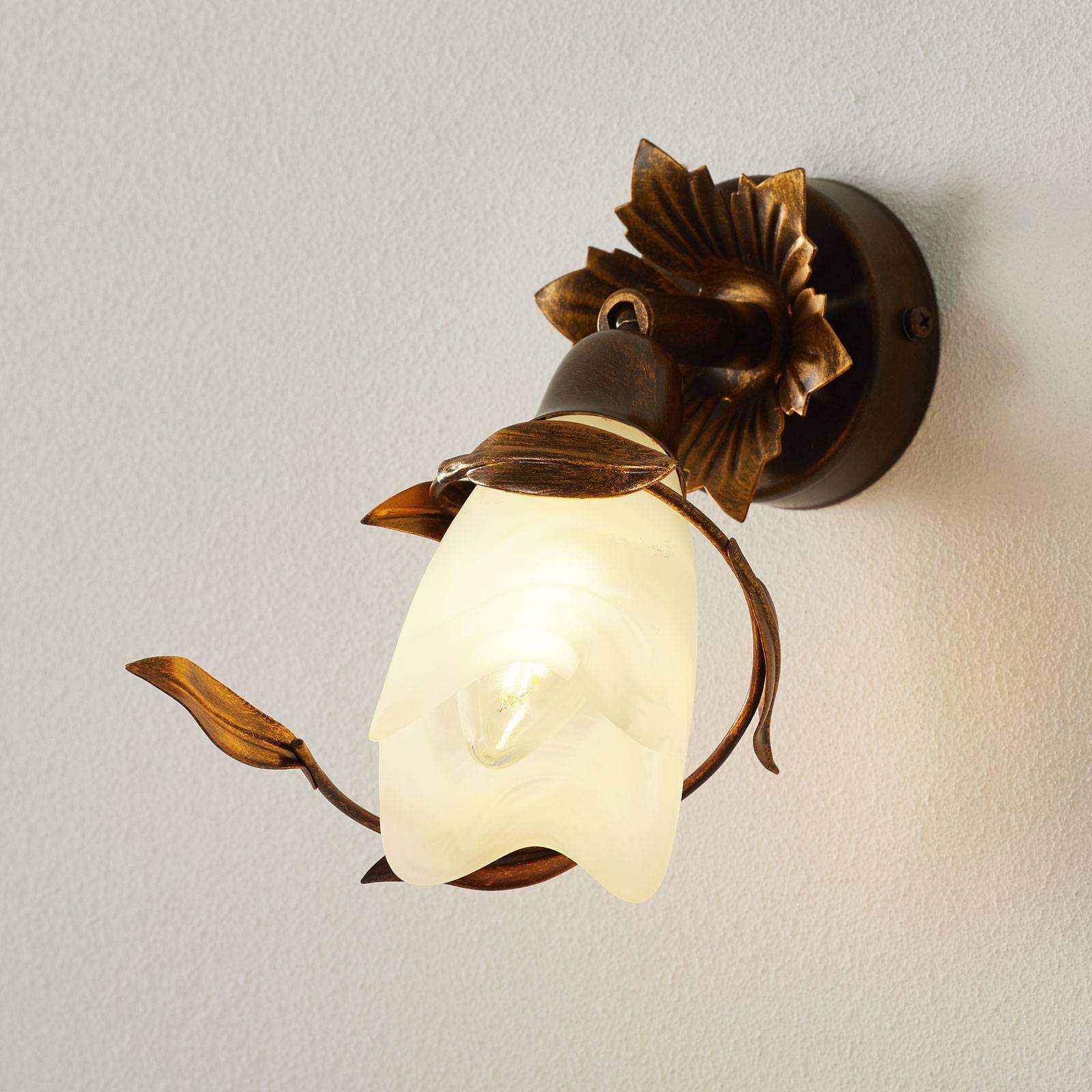 CAMPANA-seinälamppu 1-lamppuinen