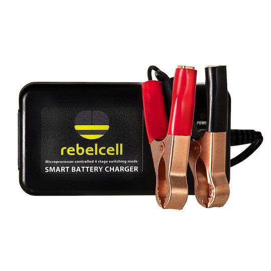 Rebelcell 4A 12V litiumladdare