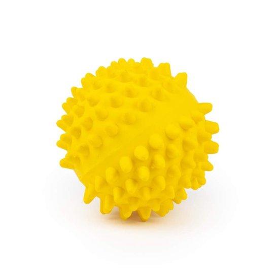 Little&Bigger Latex Igelkottsboll Gul 9 cm