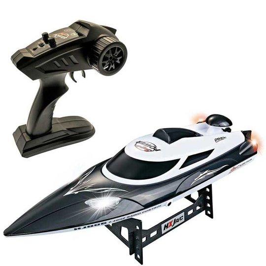 Gear4Play Nitro Speed Radiostyrt Båt, Black 30km/h