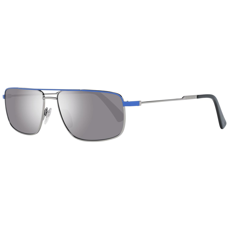 Diesel Men's Sunglasses Silver DL0308 5814A