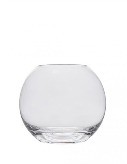 Hadeland Glassverk Sans Novo Vase 90Mm Klar