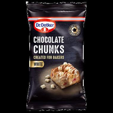 Dr Oetker White Chocolate Chunks 100g