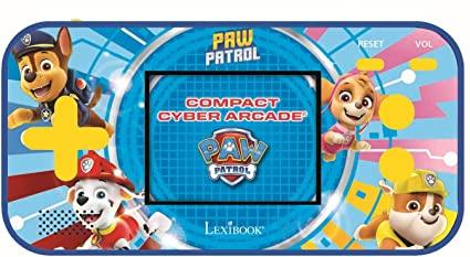 Lexibook - Handheld console Compact Cyber Arcade Paw Patrol (JL2367PA)