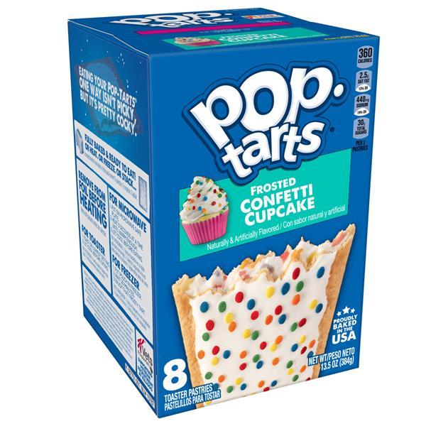 Kelloggs Pop-Tarts Frosted Confetti Cupcake 384g