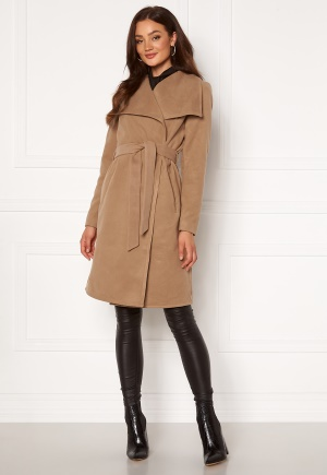 ONLY New Phoebe Drapy Coat Camel XS