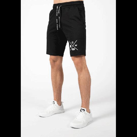 Cisco Shorts, Black/White