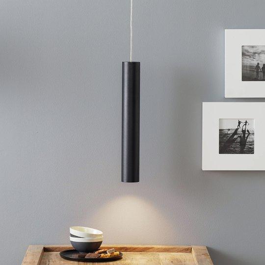 Lucande Luana -riippuvalaisin 40 cm musta
