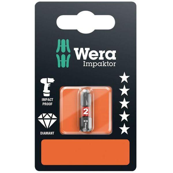 Wera Impaktor PH2 Bits 25 mm