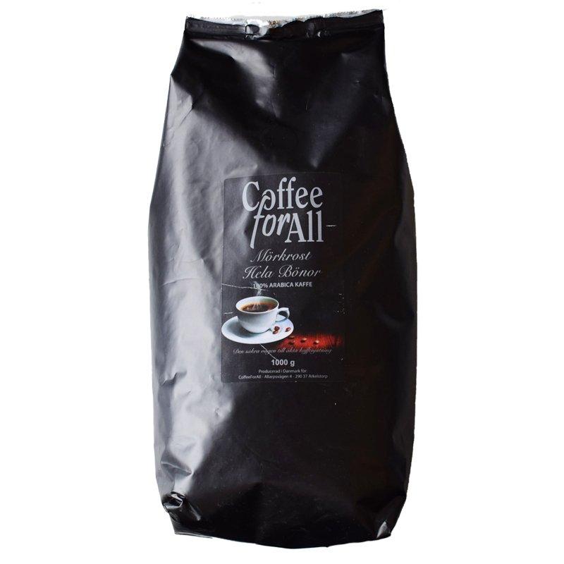 Kaffebönor Mörkrost - 51% rabatt