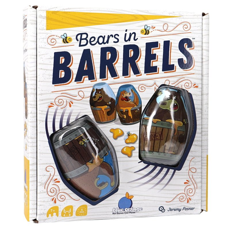 Spel Bears in barrels - 60% rabatt