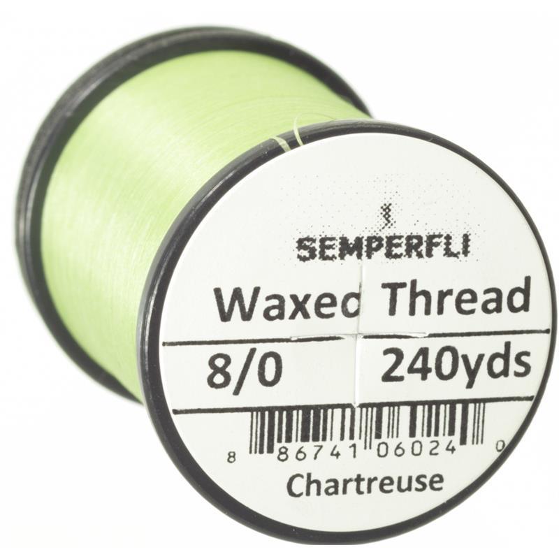 Semperfli Classic Waxed Thread Chartreuse 8/0