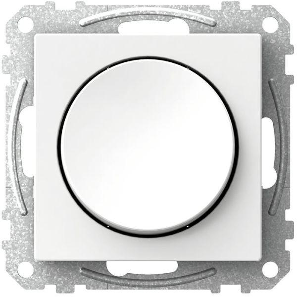 Schneider Electric Exxact WDE002321 Strømbryter rund vippe, trapp/1 pol, hvit