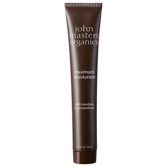 John Masters Organics Maximum Moisturizer with Mandarin & Glycoproteins, 50 ml