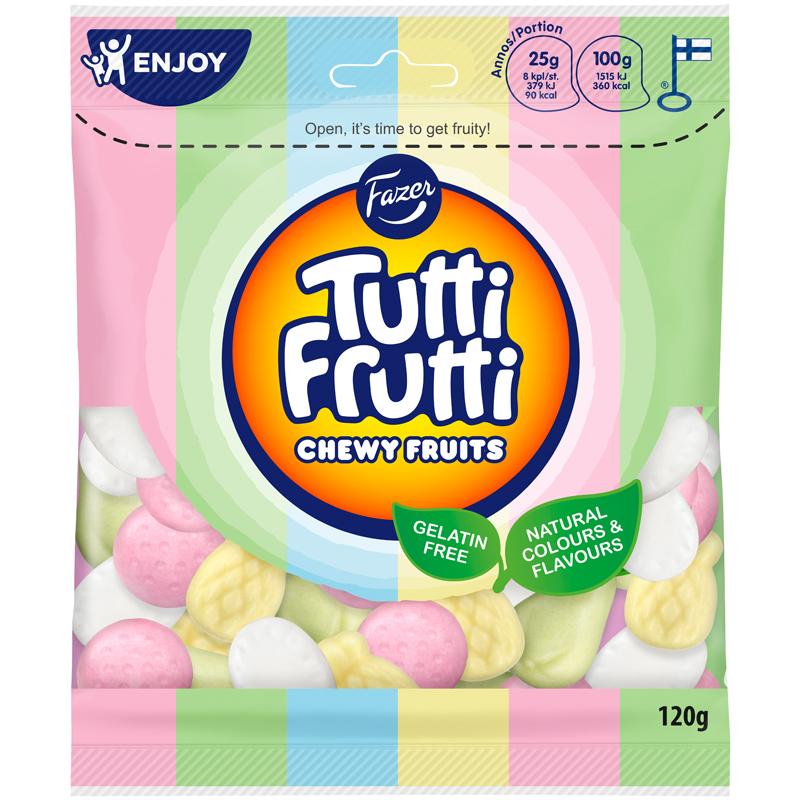 Tutti Frutti Chewy Fruits - 15% rabatt