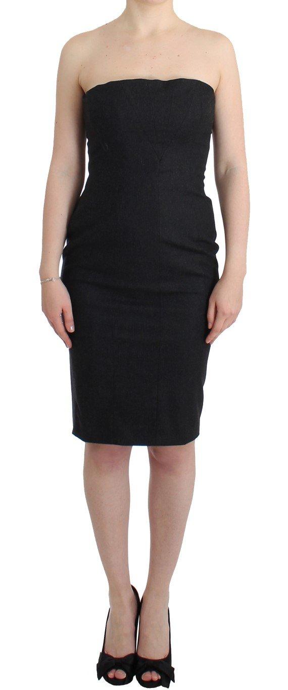 Cavalli Women's Dress Grey SIG11813 - IT46|XL