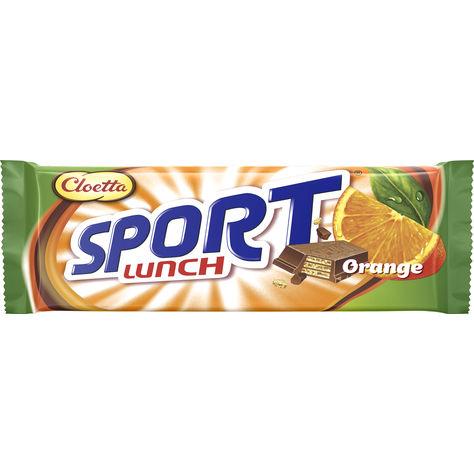 Sportlunch Apelsin 80g