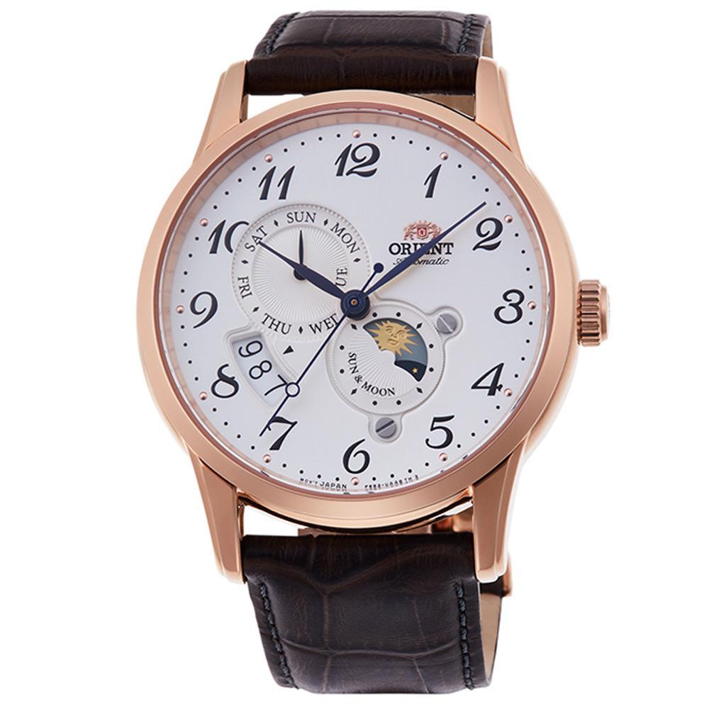 Orient Men's Watch Rose Gold RA-AK0001S10B