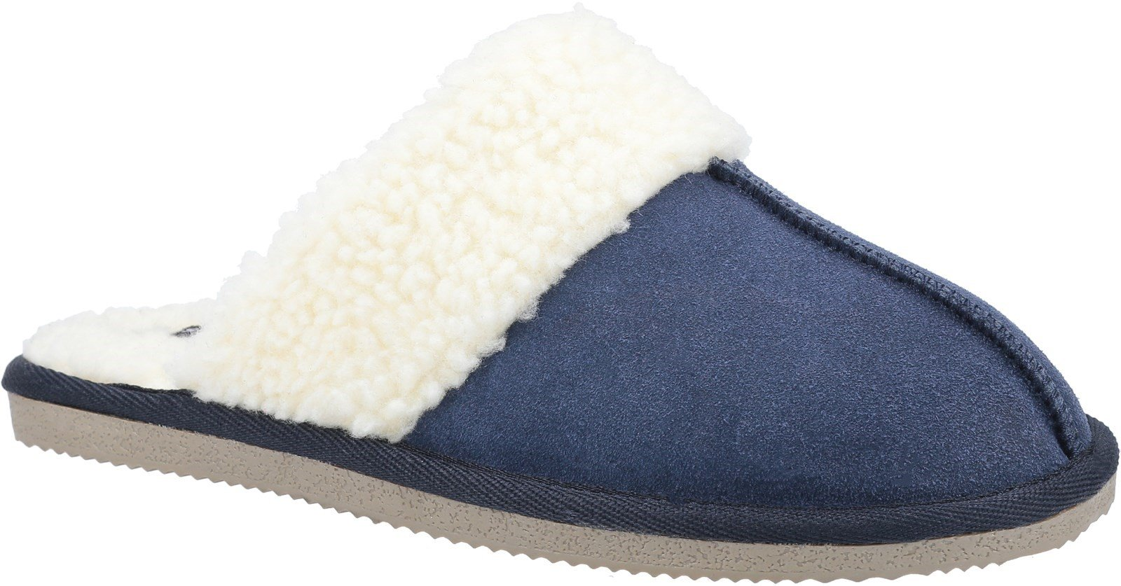 Hush Puppies Women's Arianna Mule Slippers Various Colours 31183 - Navy 3