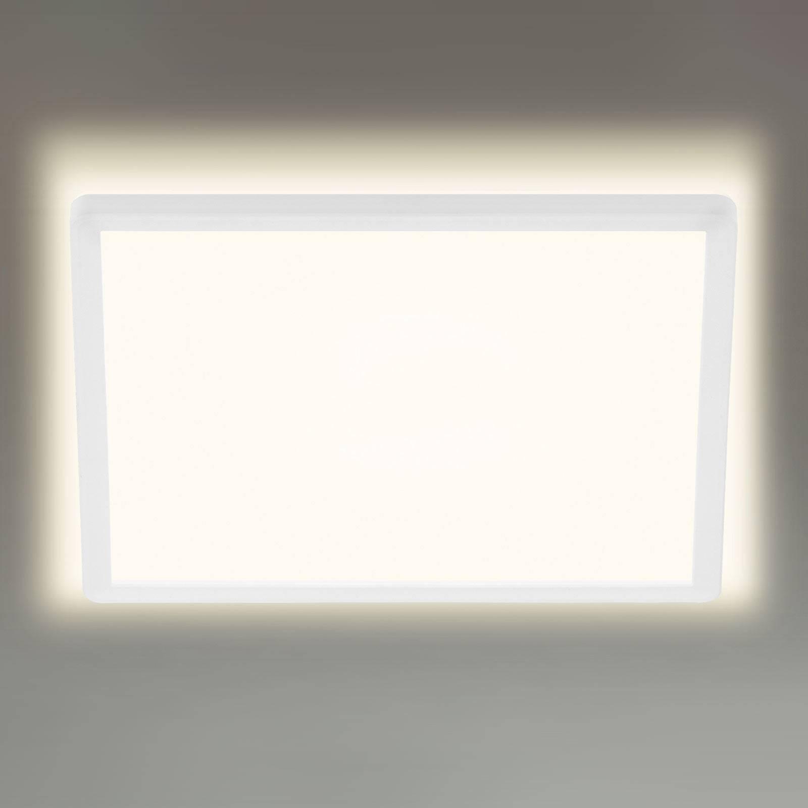 LED-kattovalaisin 7156/7158, kulmikas 29,3x29,3cm