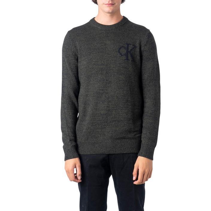 Calvin Klein Jeans Men's Sweater Green 183328 - green S