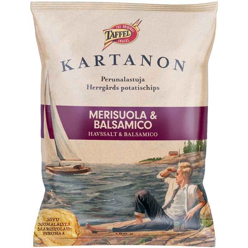 Perunalastut Merisuola & Balsamico - 34% alennus
