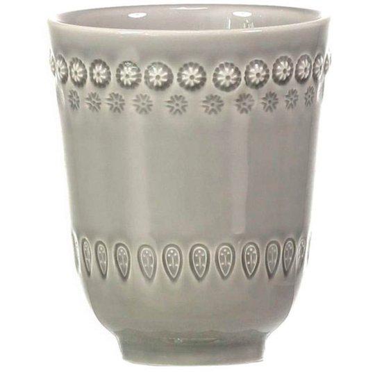 PotteryJo Daisy Mugg 2 st, Grey