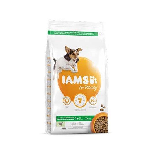 Iams for Vitality Dog Small & Medium Breed Lamm
