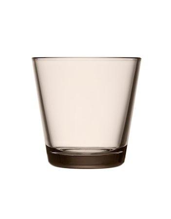 Kartio Glass Lin 21 cl 2 stk.
