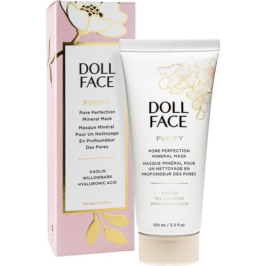 Doll Face Purify Pore Perfecting Mineral Mask, 100 ml Doll Face Kasvonaamio