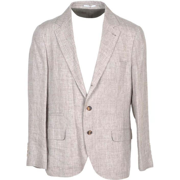 Brunello Cucinelli Men's Blazer Brown 231048 - brown 52
