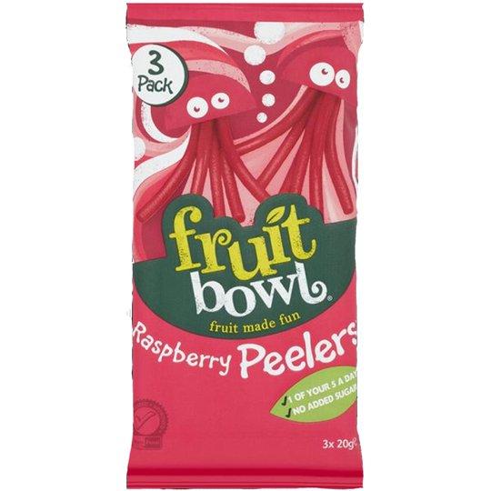 "Fruktsnacks ""Raspberry Peelers"" 3 x 20g - 56% rabatt"