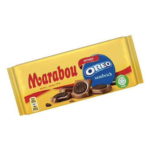 Marabou Oreo Sandwich - 92 gram