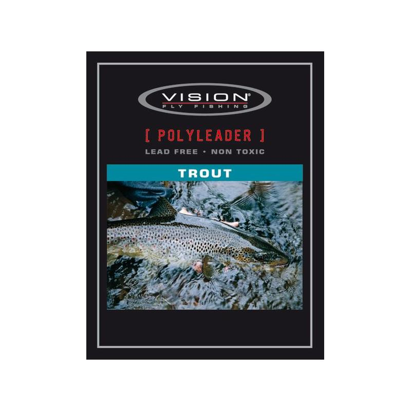 Vision Trout Polyleader 8' Intermediate