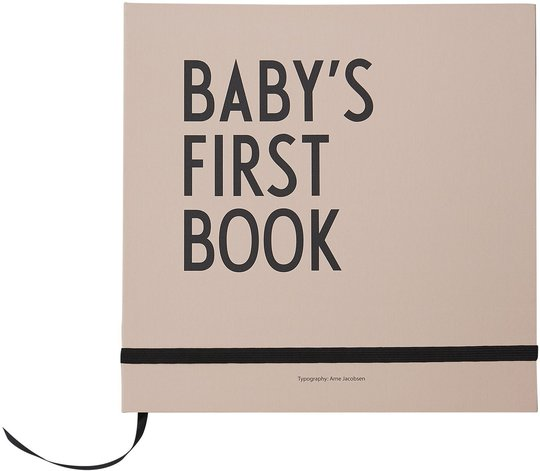 Design Letters Baby's First Book, Rosa