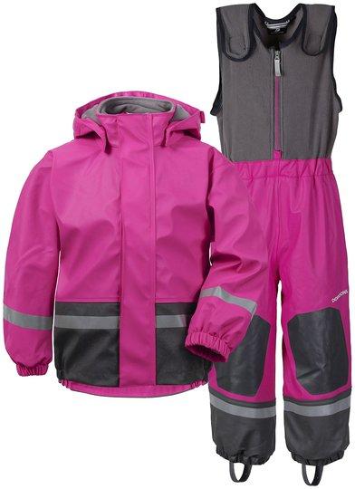 Didriksons Boardman Fôret Regnsett, Plastic Pink 80