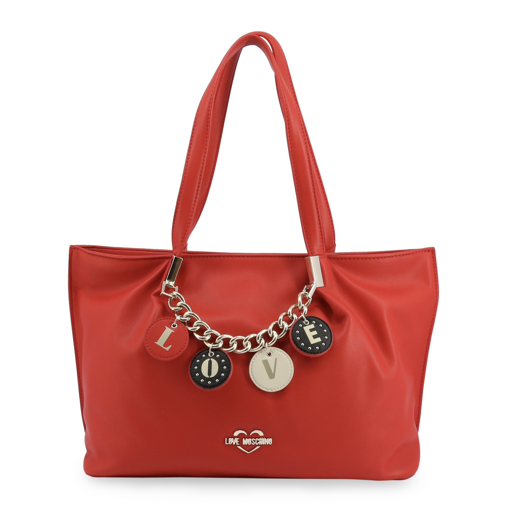 Love Moschino Women's Shoulder Bag Various Colours JC4224PP0BKD - red NOSIZE