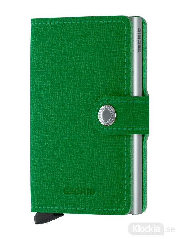 Plånbok SECRID Crisple Light Green