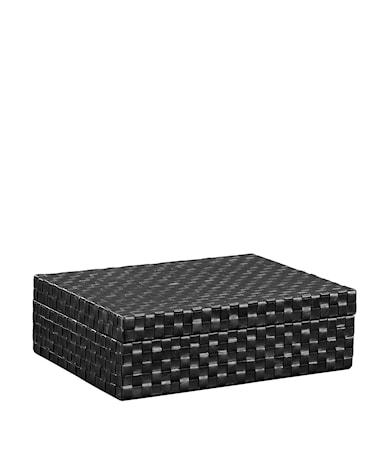 FUEGO Box leather black