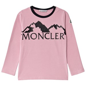 Moncler Branded T-shirt Rosa 4 years