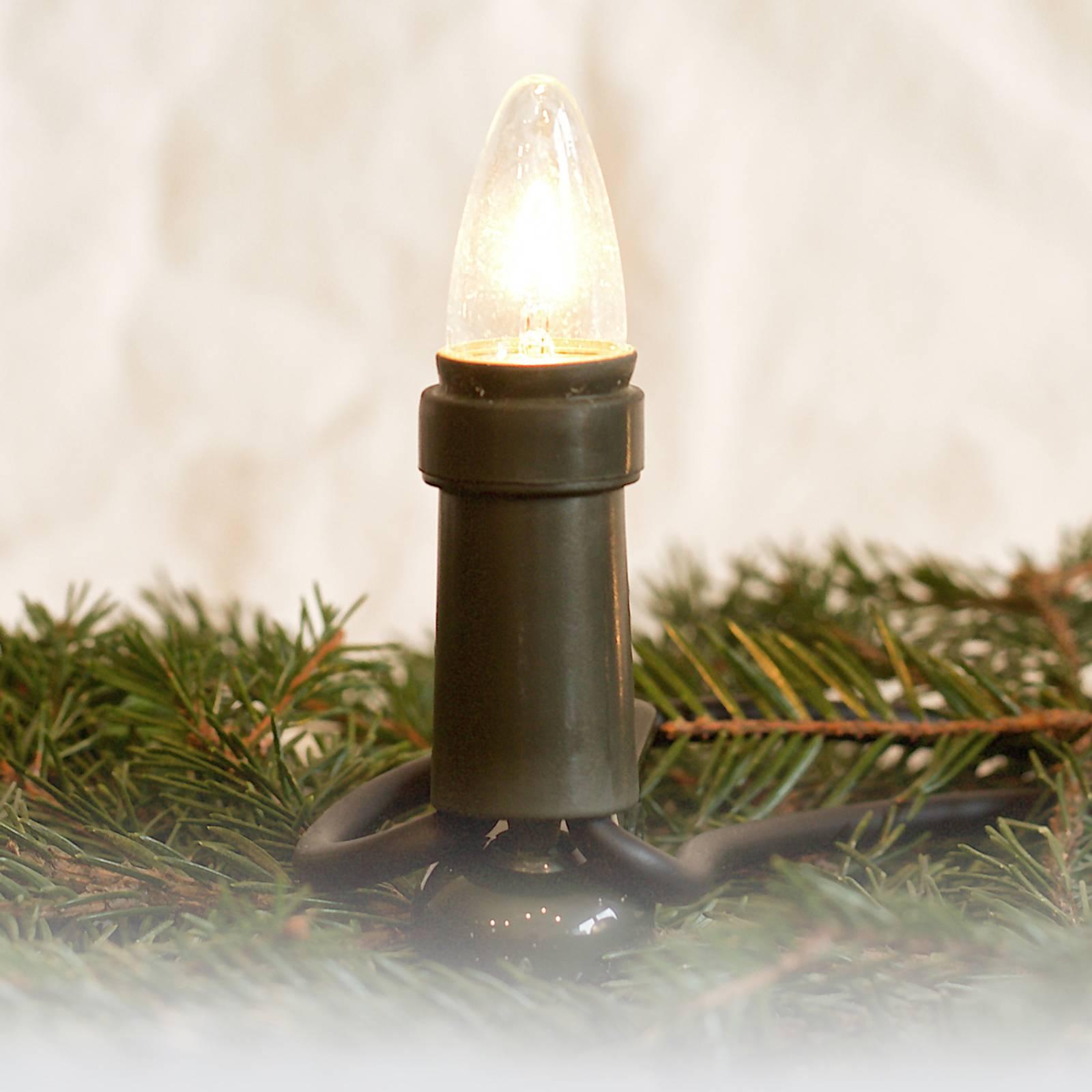 Pistoke, jaettava - LED-valoketju, päällilamppu