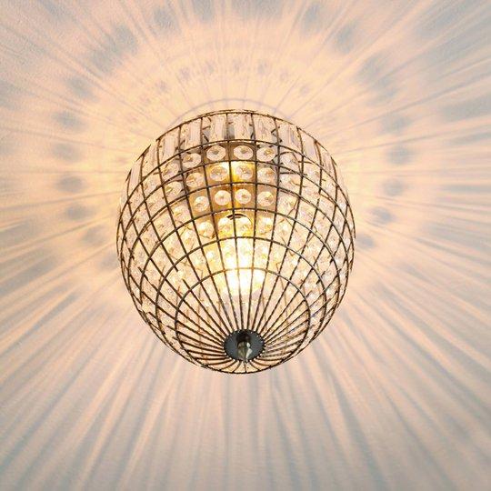 By Rydéns Amadeus taklampe, antikk, glassdeko