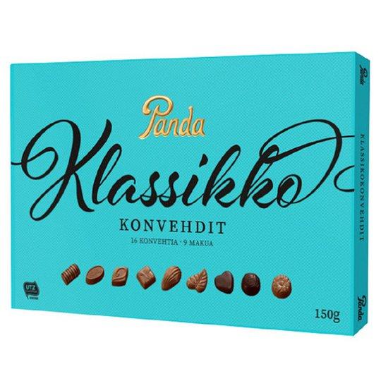 "Chokladask "" Klassikkokonvehdit"" 150g - 50% rabatt"