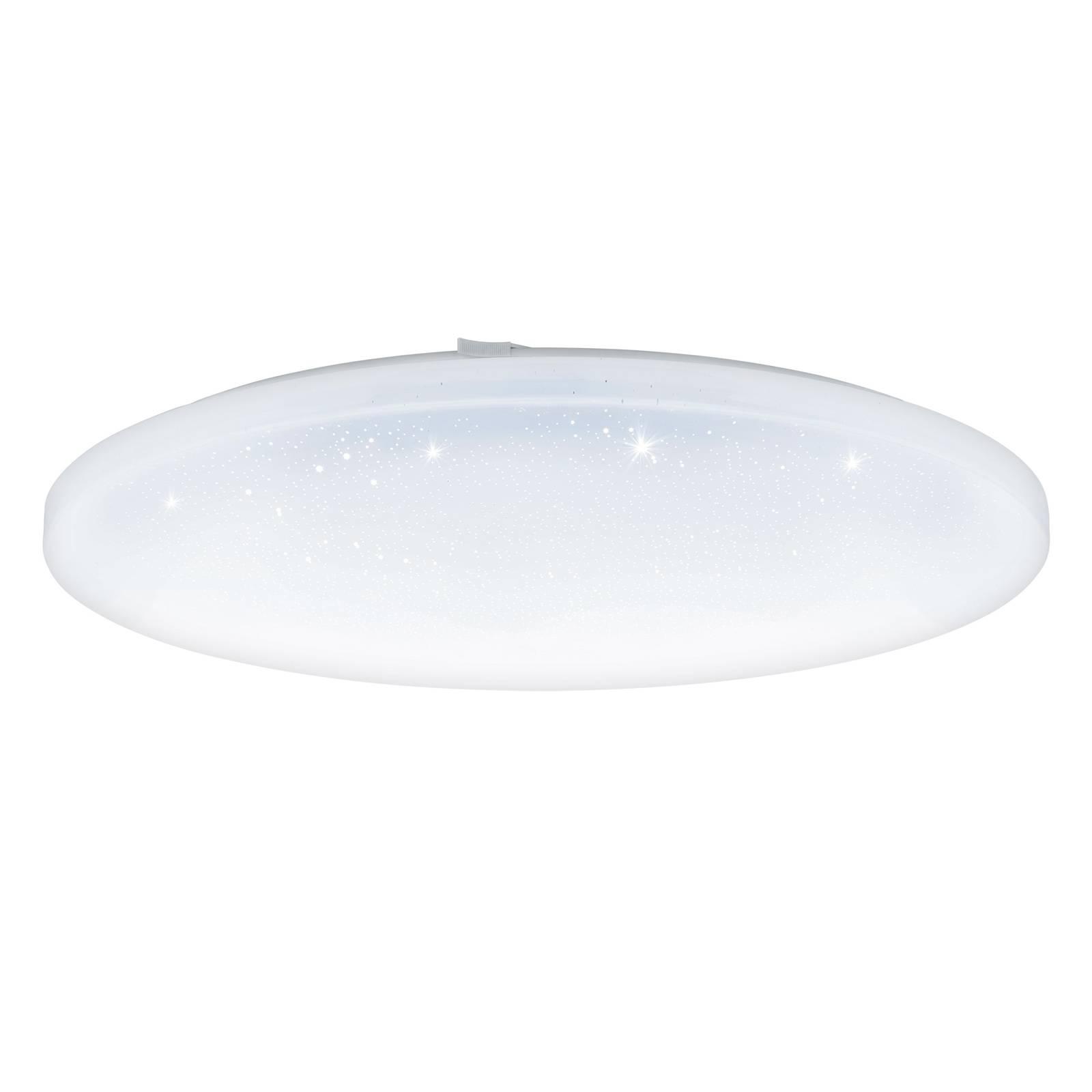 LED-kattovalaisin Frania kristallitehostein