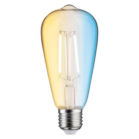 Paulmann rustiikki LED-lamppu E27 7W ZigBee, CCT