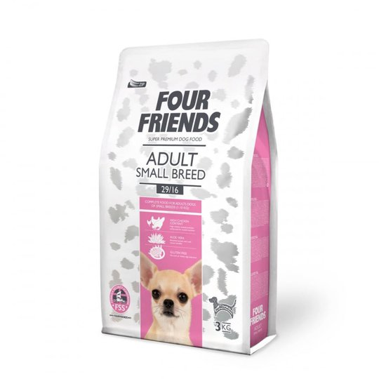 FourFriends Dog Adult Small Breed (3 kg)